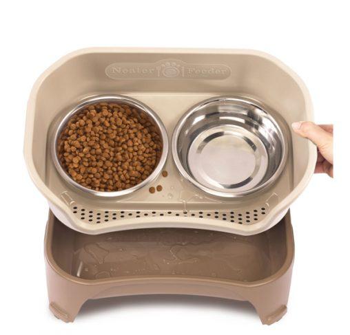 Neater Feeder - עמדת האכלה / שתיה מסודרת לכלבים בינוניים וגדולים