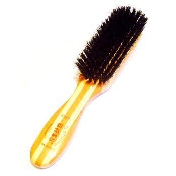 Bass – מברשת 100% שיער חזיר בוגר מלבנית – שיער רך לפרוות קצרות