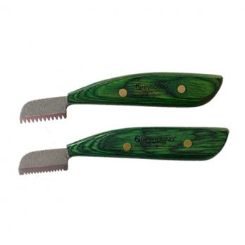 Greyhound – זוג סכיני סריקה ומריטה במוצר אחד