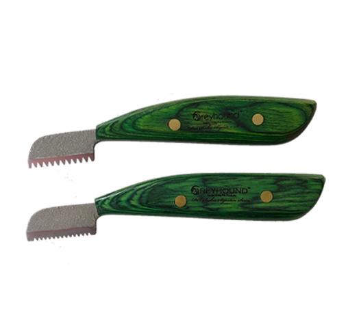 Greyhound - זוג סכיני סריקה ומריטה במוצר אחד