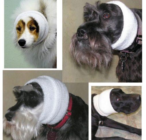 Happy Hoodies - 'קפוצ'ון' לכיסוי אוזני הכלבים גם בזמן היבוש