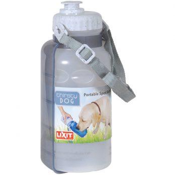 LixIt – בקבוק שתיה נייד לכלבים עם רצועת כתף