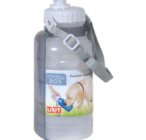 LixIt - בקבוק שתיה נייד לכלבים עם רצועת כתף