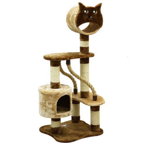 מתקן גירוד וטיפוס לחתולים #80105-4