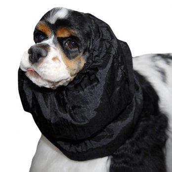 Show Tech – כיסוי והגנה לאוזני הכלב שחור