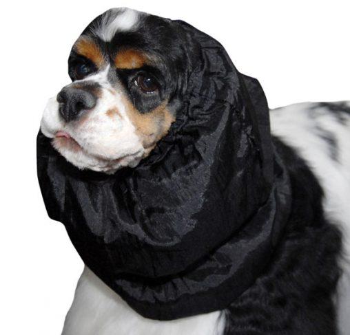 Show Tech - כיסוי והגנה לאוזני הכלב שחור