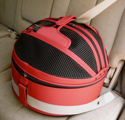Sleepypod - מיטה / מנשא / מושב רכב לכלבים וחתולים - אדום