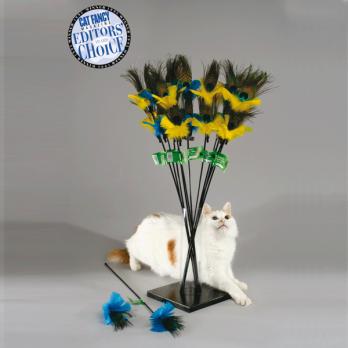 Vee Toys – טיזר לחתולים PeacockFeather