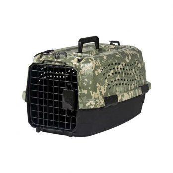 """מנשא לכלבים וחתולים הסוואה 2 דלתות 48-58 ס""""מ"""