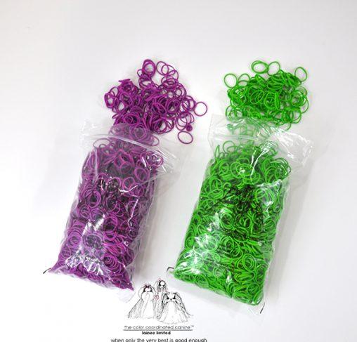 "LaineeLTD - גומיות לרולים - 2.03 ס""מ במגוון צבעים"