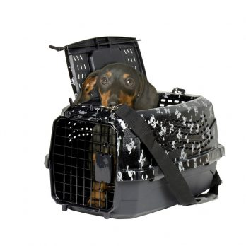 """מנשא לכלבים וחתולים גולגולות 2 דלתות – 58 ס""""מ"""