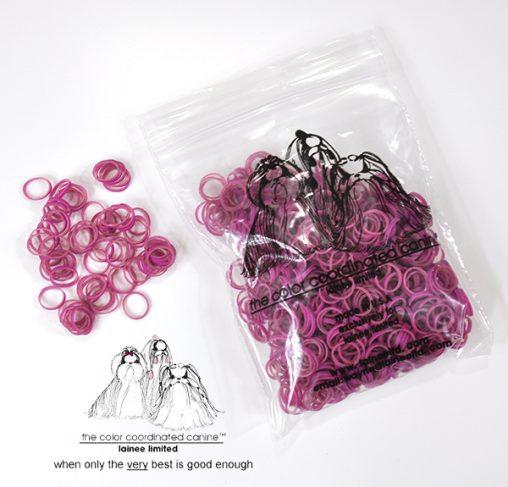 "LaineeLTD- גומיות לשיער - 0.95 ס""מ - מגוון צבעים"