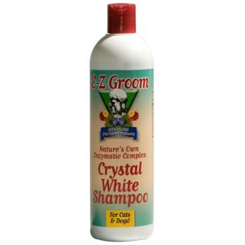 EZ-Groom – שמפו אנזימתי להסרת כתמים לפרוות לבנות
