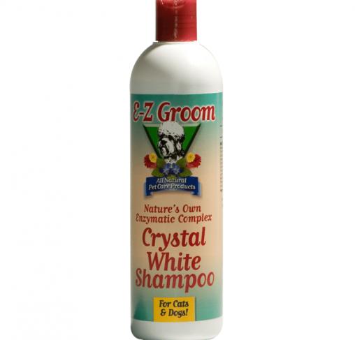 EZ-Groom - שמפו אנזימתי להסרת כתמים לפרוות לבנות