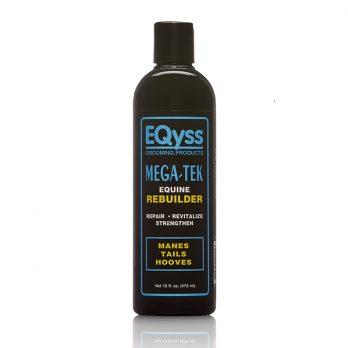 EQyss Equine – מרכך משקם להצמחת וחיזוק רעמה פגומה ופרסות סדוקות MEGA TEK REBUILDER