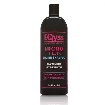 EQyss Equine – שמפו מסייע לסוסים לעור מגורה MICRO TEK SHAMPOO