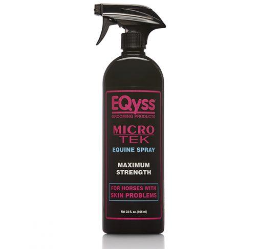 EQyss Equine - תרסיס המסייע לסוסים לעור מגורה MICRO TEK SPRAY