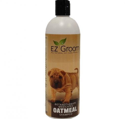 EZ-Groom - שמפו שיבולת שועל, מסייע כמגן על העור