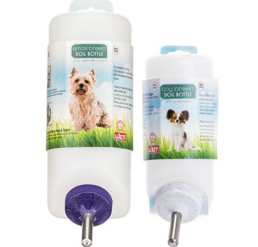 LixIt - בקבוקי שתיה לכלבי טוי וכלבים קטנים לתליה על כלוב או רשת