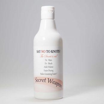 Secret Weapon – תוסף לשמפו ההופך כל שמפו לפותח קשרים