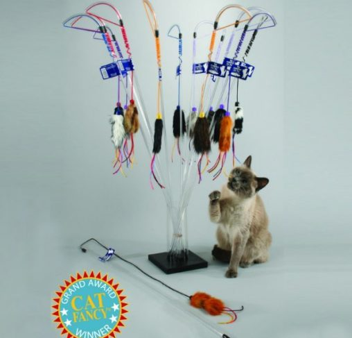 Vee Toys - טיזר לחתולים THE PURRfect Cat toy
