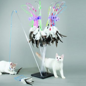 Vee Toys – טיזר לחתולים PURRfect Feather