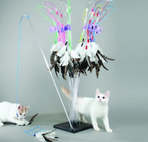 Vee Toys - טיזר לחתולים PURRfect Feather