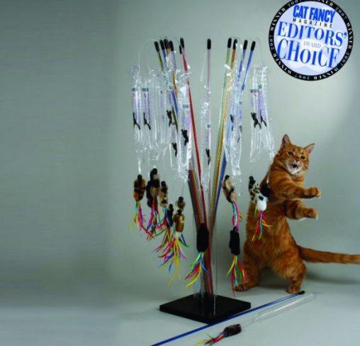 Vee Toys - טיזר לחתולים PURRfect Go-Fur-It