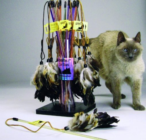 Vee Toys - טיזר לחתולים PURRfect Pouncer