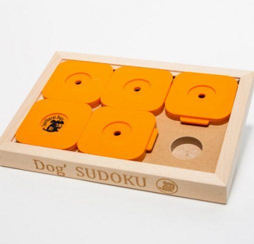 My Intelligent Dogs - Dog' SUDOKU - סודוקו 4 בסיסי - כתום
