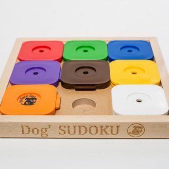My Intelligent Dogs – Dog' SUDOKU – סודוקו 9 מומחים – צבעוני
