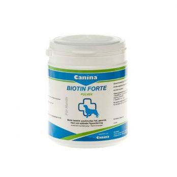 Canina Biotin Forte – תוסף לפרווה ועור בריאים ולפיגמנטציה