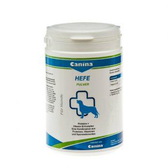 Canina Yeast Powder – תוסף תזונה שמרים להזנה וצמיחה