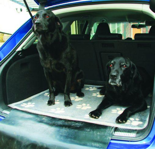 Howler & Scratch BIG PAWS 1 + Bumper - מחצלת לרכב עם באמפר