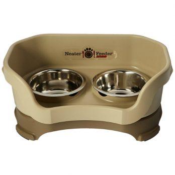 Neater Feeder Deluxe- עמדת האכלה / שתיה מסודרת לכלבים קטנים