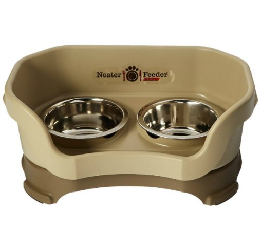 Neater Feeder Deluxe- עמדת האכלה / שתיה מסודרת לכלבים בינוניים