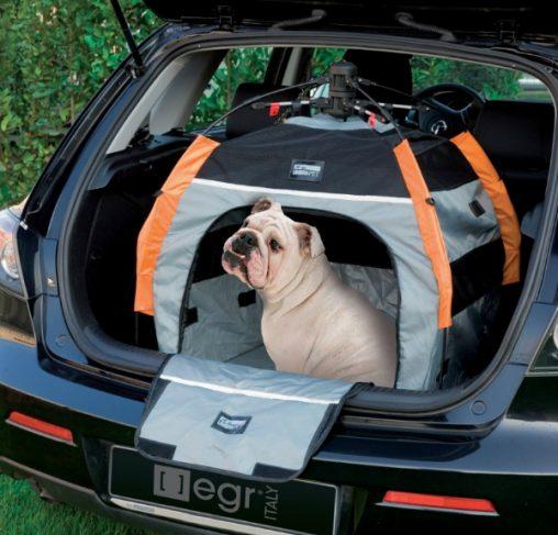 PetEgo - מלונת בד ניידת חזקה עם פתיחה וסגירה קלה - LARGE
