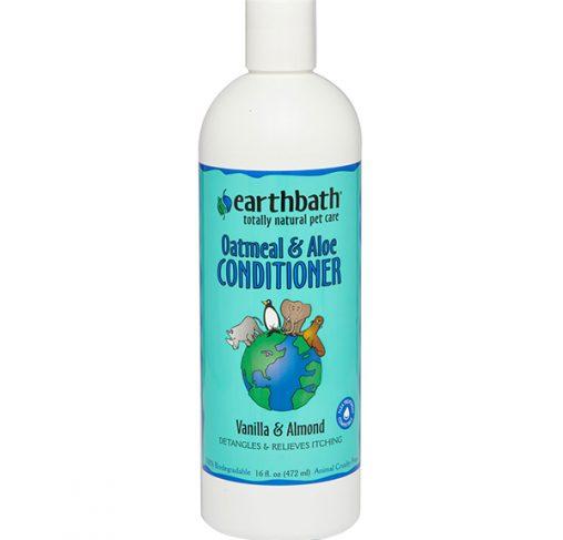 EarthBath - מרכך ש.שועל ואלוורה בריח וניל ושקדים OATS & ALOE