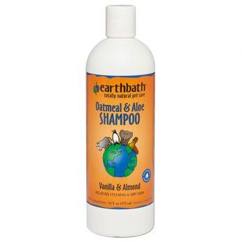 EarthBath – שמפו ש.שועל ואלוורה בריח וניל ושקדים OATS & ALOE