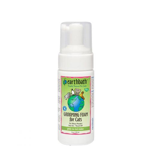 EarthBath - קצף טיפוח ללא שטיפה לחתולים