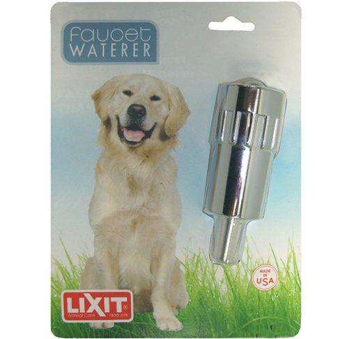 LixIt - Faucet Waterer - מתקן שתיה מתחבר לברז גינה