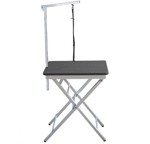 """Show Tech - שולחן תערוכות קטן 60x45x73-82 ס""""מ - שחור"""