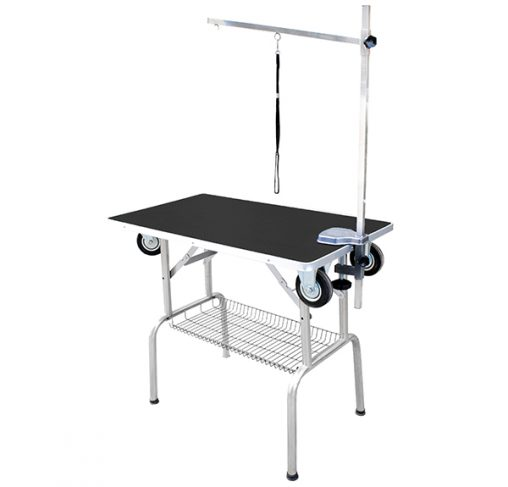 "Show Tech - שולחן תערוכות עם גלגלים 95x55x78 ס""מ"