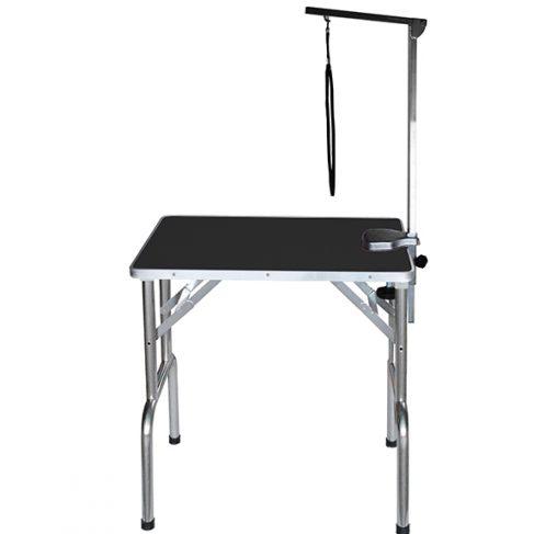 """Show Tech - שולחן תערוכות 70x48x76 ס""""מ - שחור"""