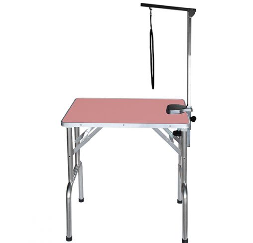 """Show Tech - שולחן תערוכות 70x48x76 ס""""מ - ורוד"""