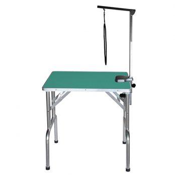 "Show Tech – שולחן תערוכות 70x48x76 ס""מ – ירוק"