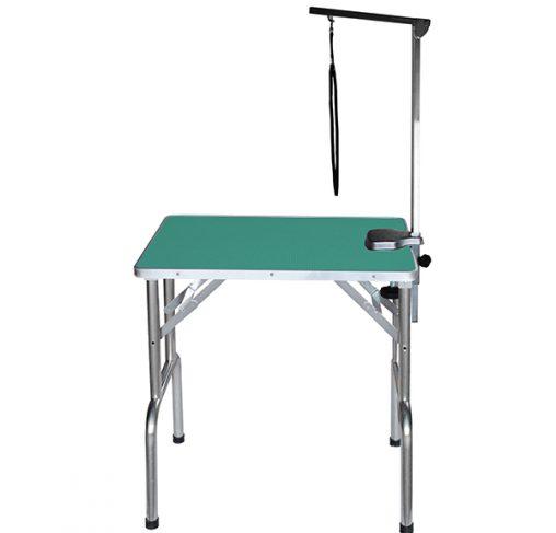 "Show Tech - שולחן תערוכות 70x48x76 ס""מ - ירוק"