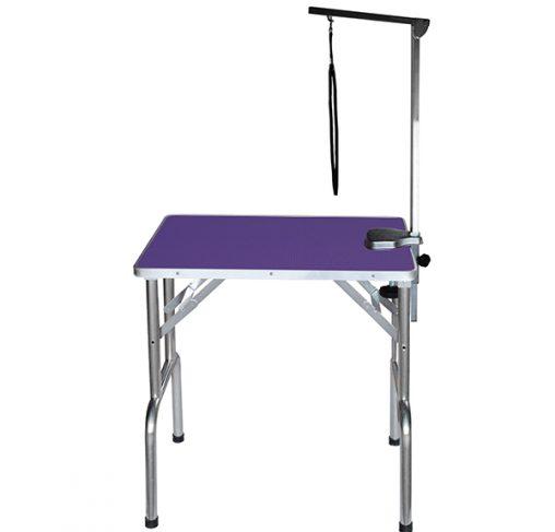 """Show Tech - שולחן תערוכות 70x48x76 ס""""מ - סגול"""
