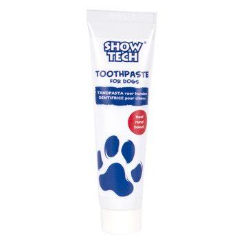 Show Tech – משחת שיניים לכלבים 85 גרם – בטעם בקר