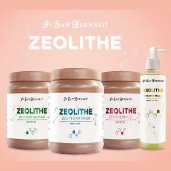 Iv San Bernard – Zeolithe – סט המכיל נוגדי חמצון מסייע לעור והפרווה